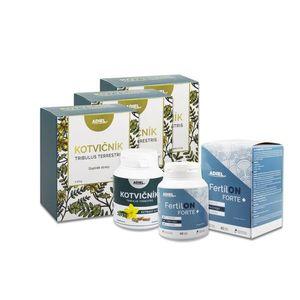 ADIEL vitalita muža - Kotvičník čaj, Kotvičník zemný, vitamíny FertilON forte plus vyobraziť