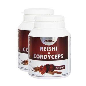 Adiel Dvojbalenie Reishi & Cordyceps 2×90 kapsúl vyobraziť