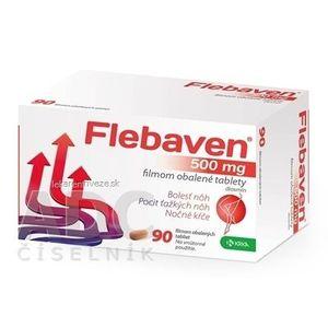 Flebaven 500 mg filmom obalené tablety tbl flm (blis.PVC/PVDC/Al) 1x90 ks vyobraziť
