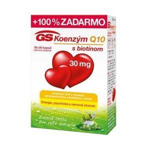 GS Koenzým Q10 30 mg 30 + 30 cps vyobraziť
