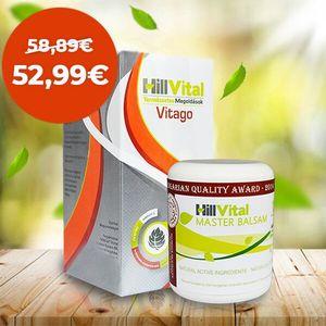Hillvital | Balíček komplet GO na zmiernenie bolesti kĺbov a svalov 500g vyobraziť