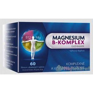Glenmark Magnesium B-Komplex 60 tabliet vyobraziť