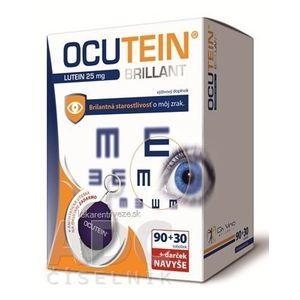 OCUTEIN BRILLANT Luteín 25 mg - DA VINCI cps 90+30 navyše (120 ks) + Darček, 1x1 set vyobraziť