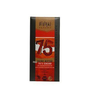 Horká čokoláda 75% Panama VIVANI 80 g vyobraziť