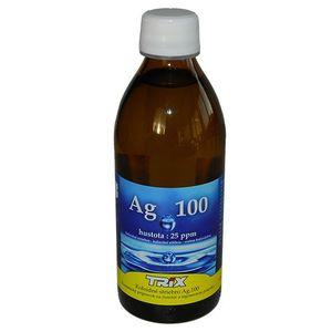 Koloidné striebro Ag 100 25ppm 300ml vyobraziť