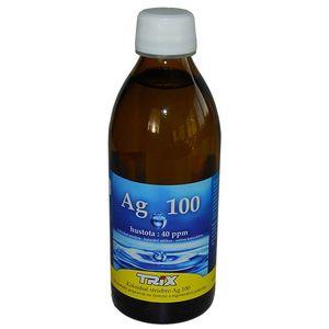 Koloidné striebro Ag 100 40ppm 300ml vyobraziť