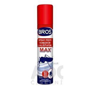 BROS spray proti komárom a kliešťom MAX 1x90 ml vyobraziť