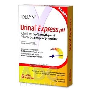 Urinal Express pH vrecúška 1x6 ks vyobraziť