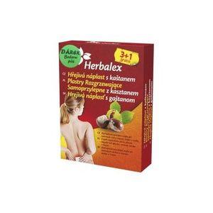 Herbalex Hrejivá náplasť s gaštanom 4 ks vyobraziť