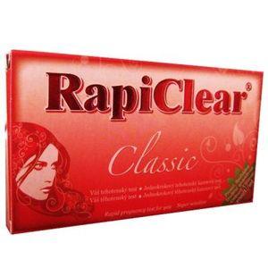 RapiClear Tehotenský test Classic 1 ks vyobraziť