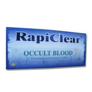 RapiClear occult blood test 1 set vyobraziť