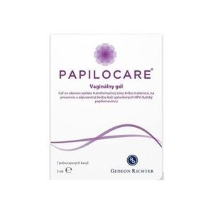 Papilocare vaginálny gél 7x5 ml vyobraziť