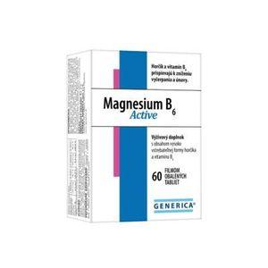 Generica Magnesium B6 Active 60 tbl vyobraziť