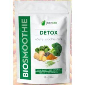 Biosmoothie GreenPro detox prášok na prípravu smoothie 300 g vyobraziť