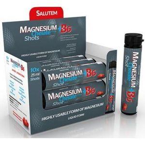 Magnesium Chelate + B6 cherry SALUTEM ampulky na pitie s višňovou príchuťou á 25 ml 10 ks vyobraziť