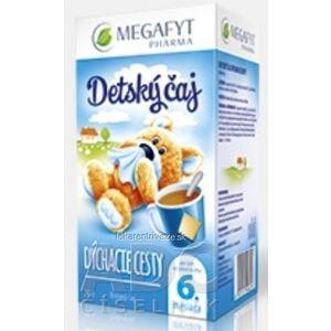 MEGAFYT Detský čaj DÝCHACIE CESTY inov.2015, bylinný čaj, 20x2 g (40 g) vyobraziť