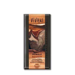 Čokoláda tmavý nugát VIVANI 100 g vyobraziť
