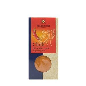 Chili mleté kajenské korenie extra ostré BIO SONNENTOR 40 g vyobraziť