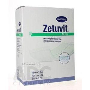 ZETUVIT Plus kompres nasiakavý sterilný (10x10 cm) 1x10 ks vyobraziť