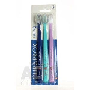CURAPROX CS 1560 soft zubná kefka (2+1) 1x3 ks vyobraziť