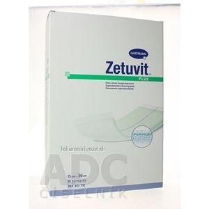 ZETUVIT Plus kompres nasiakavý sterilný (15x20 cm) 1x10 ks vyobraziť