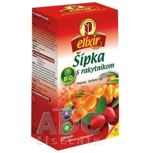 AGROKARPATY BIO Šípka s Rakytníkom ovocno - bylinný čaj, balené vrecúška, 20x1, 5 g (30 g) vyobraziť