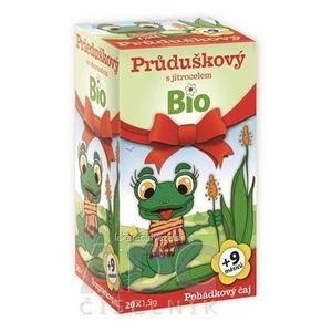APOTHEKE ROZPRÁVKA Prieduškový so skorocelom Bio bylinný čaj (od ukončeného 9. mesiaca) 20x1, 5 g (30 g) vyobraziť