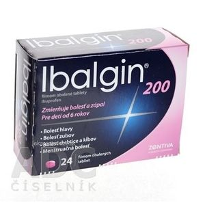 Ibalgin 200 tbl flm 200 mg (blis. PVC/Al) 1x24 ks vyobraziť