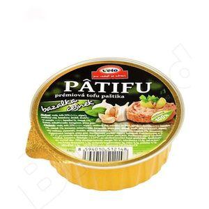 Nátierka Patifu s bazalkou a cesnakom 100g vyobraziť
