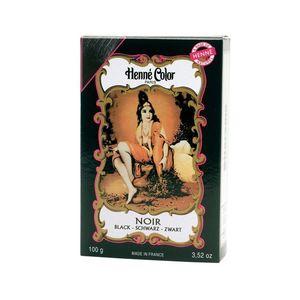 Henné Color Paris Noir Henna Powder, Henné Color 100g - Čierna vyobraziť