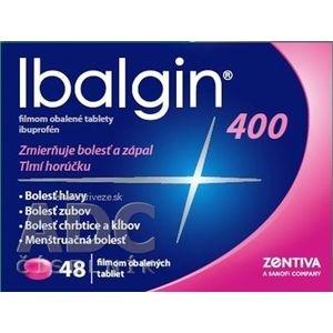 Ibalgin 400 tbl flm (blis. PVC/Al) 1x48 ks vyobraziť