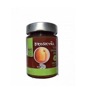 BIO 100% ovocný džem – broskyňový MOUNTBERRY 200 g vyobraziť