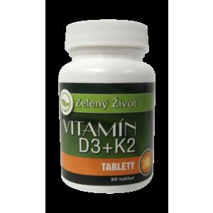 Vitamín D3 + K2, 30 tbl vyobraziť