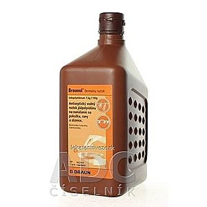 B.BRAUN Braunol sol der (PE fľaša) 1x1000 ml vyobraziť