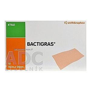 BACTIGRAS Krytie na rany 15x20cm, sterilné antiseptické tylové krytie s chlórhexidín acetátom 1x10 ks vyobraziť