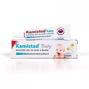 Kamistad baby masážny gél 10 ml vyobraziť