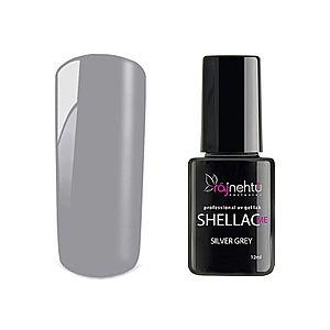 Ráj nehtů UV gel lak Shellac Me 12ml - Silver Grey vyobraziť