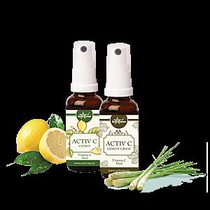 ACTIV C SPRAY 50+50 ML - Citrus+Lemongrass vyobraziť