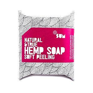 Konopné mydlo Soft Peeling Natural&True vyobraziť