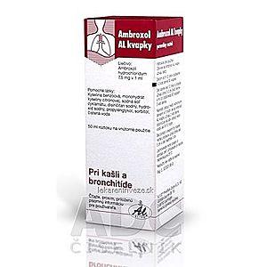 Ambroxol AL kvapky gtt por (fľ.skl.hnedá) 1x50 ml vyobraziť