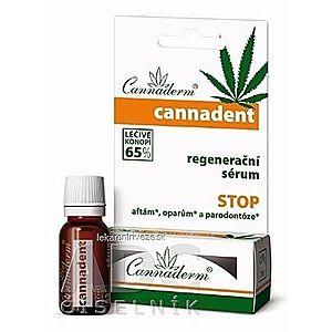 Cannaderm CANNADENT regeneračné sérum na afty a opary 1x5 ml vyobraziť