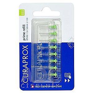 CURAPROX CPS 011 prime refill svetlozelená medzizubné kefky bez držiaka 1x8 ks vyobraziť