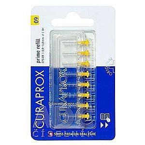 CURAPROX CPS 09 prime refill žltá medzizubné kefky bez držiaka 1x8 ks vyobraziť