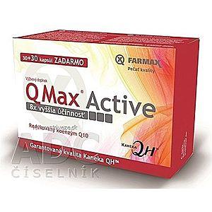 FARMAX Q Max Active cps 30+30 zadarmo (60 ks) vyobraziť
