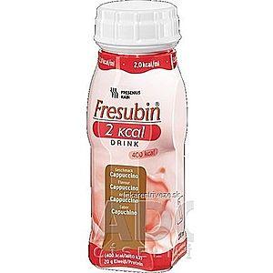 Fresubin 2 kcal DRINK príchuť kapučíno (2, 0 kcal/ml), 4x200 ml (800 ml) vyobraziť