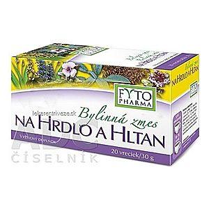 FYTO Bylinná zmes NA HRDLO A HLTAN 20x1, 5 g (30 g) vyobraziť