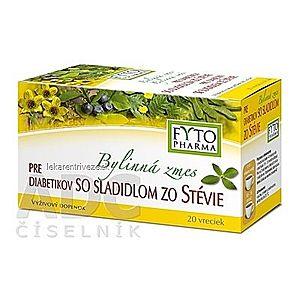 FYTO Bylinná zmes PRE DIABETIKOV so sladidlom zo stévie 20x1, 5 g (30 g) vyobraziť