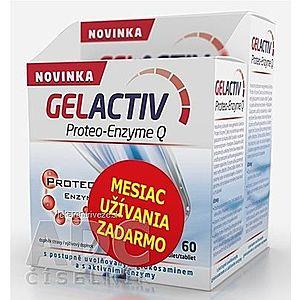 GELACTIV Proteo-Enzyme Q tbl 120+60 zadarmo (180 ks) vyobraziť