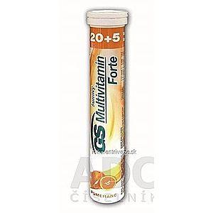 GS Multivitamín Forte šumivý pomaranč tbl eff 20+5 vyobraziť