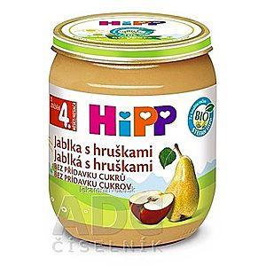 HiPP Príkrm ovocný Jablká s hruškami (od ukonč. 4. mesiaca) 1x125 g vyobraziť